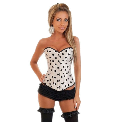 Womenly Waist Trainer with Black Dots