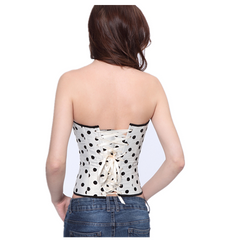 Womenly Waist Trainer with Black Dots - BoardwalkBuy - 2
