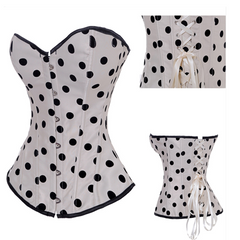 Womenly Waist Trainer with Black Dots - BoardwalkBuy - 3