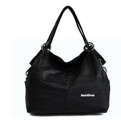 Women's Leather Shoulder Handbag - BoardwalkBuy - 5