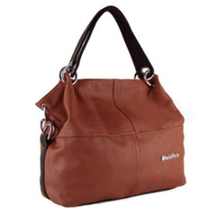 Women's Leather Shoulder Handbag - BoardwalkBuy - 4