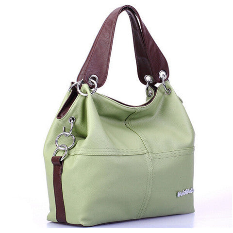 Women's Leather Shoulder Handbag - BoardwalkBuy - 1