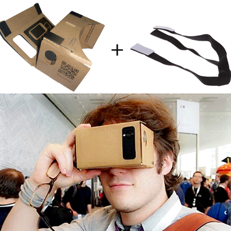 Google Cardboard - Head Mount Strap Included