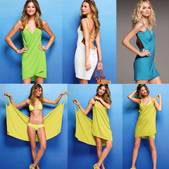 Bikini Wrap Dress - Assorted Colors - BoardwalkBuy - 4