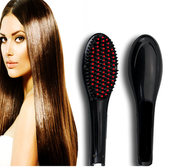 Hair Straightener Brush - Option For Holster And Matte Lipstick
