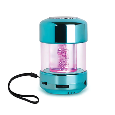 LED Bubble Speaker with Color-Morphing Light-Up Bubbles - Assorted Colors