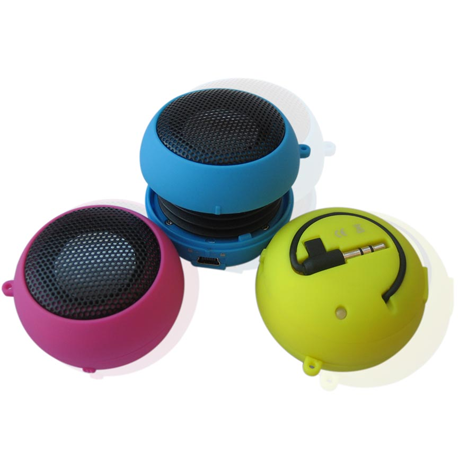 Hamburger Mini Speaker - Assorted Colors
