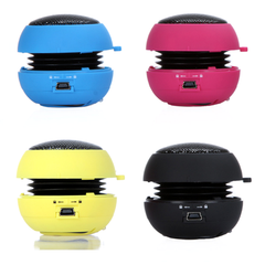 Hamburger Mini Speaker - Assorted Colors - BoardwalkBuy - 2
