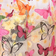 Butterfly Window Curtains - BoardwalkBuy - 3
