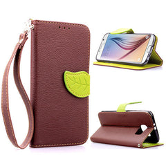 leaves lock wallet standard case for Samsung Galaxy S6 - BoardwalkBuy - 4