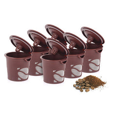 6 Pack: Reusable Single Brew Coffee Pods - BoardwalkBuy - 3