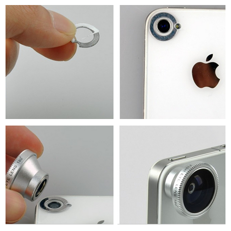 iphone camera lens attachment 3 lens attachment set for iphone or android 2188