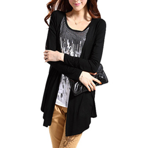 Royal Long-Sleeve Cardigan - Assorted Colors - BoardwalkBuy - 1
