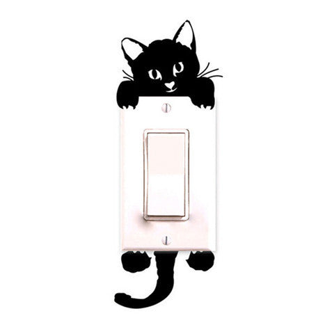 Cute Cat Switch Sticker