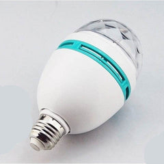 colorful led bulb Auto rotating lights - BoardwalkBuy - 3