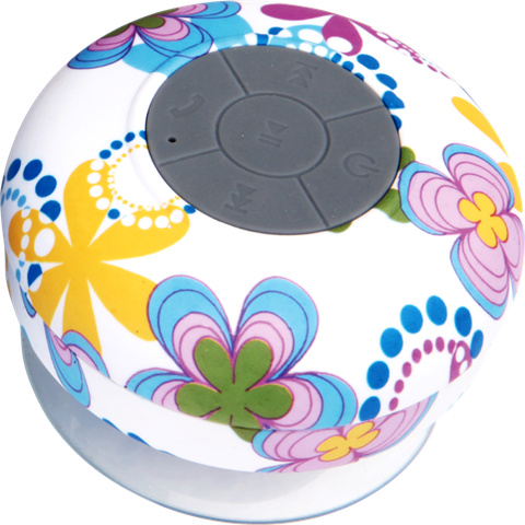 Flowers Waterproof Bluetooth speaker