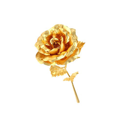 24K Gold Plated Forever Love Rose - BoardwalkBuy - 3