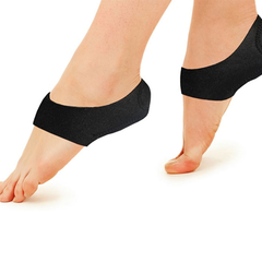 2 Pack: Foot Shock-Absorbing Plantar Fasciitis Therapy Wraps - BoardwalkBuy - 2