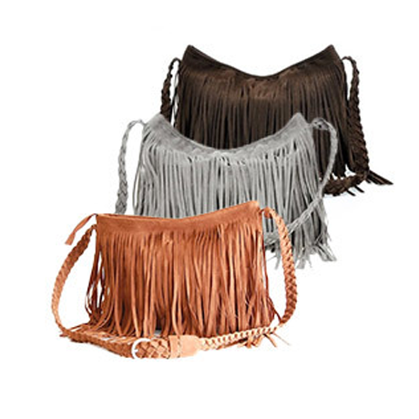 Fringed Cross-Body Bag - BoardwalkBuy - 1