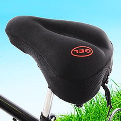 Gel Bike Seat Cover - BoardwalkBuy - 1