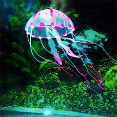 Glowing Jellyfish Fish Tank Decoration - BoardwalkBuy - 4