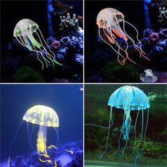 Glowing Jellyfish Fish Tank Decoration - BoardwalkBuy - 6
