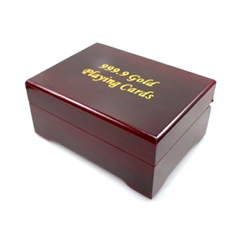 24K Gold-Plated Playing Cards with Case - BoardwalkBuy - 5