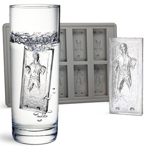 Han Solo Silicone Star Wars Ice Mold Tray