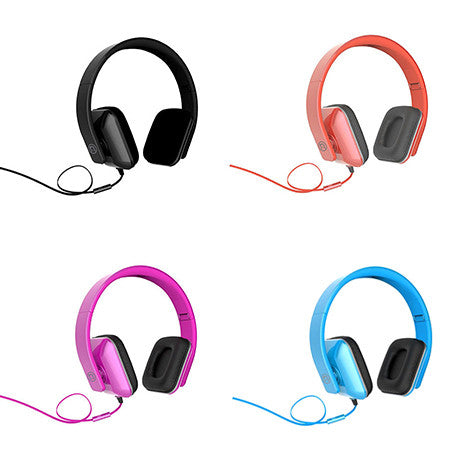 iHip DJ Style Foldable Square Headphone with Mic