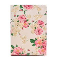 Pink Flower Leather Case for iPad Air - BoardwalkBuy - 1