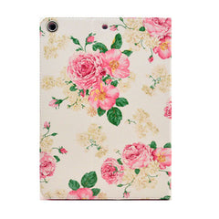 Pink Flower Leather Case for iPad Air - BoardwalkBuy - 3