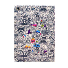 Comic Leather Case for iPad Air - BoardwalkBuy - 3