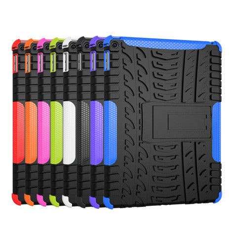 Hyun-shaped pattern Armor Soft TPU Case for ipad6/air2 - BoardwalkBuy - 1