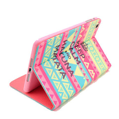 Pink Matata Leather Case for iPad mini2 - BoardwalkBuy - 2