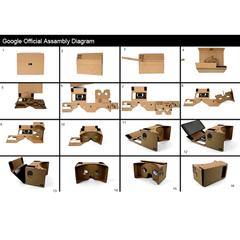 Google Cardboard - Head Mount Strap Included - BoardwalkBuy - 3