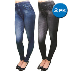 Slim & Lift Caresse Jeans - Single and 2 Pack - BoardwalkBuy - 2