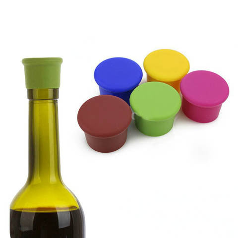 kitchen tool bar silicon wine bottles corks - BoardwalkBuy - 1