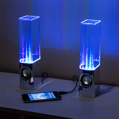 LED Dancing Water Speakers - BoardwalkBuy - 3