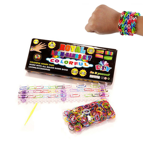 625-Piece Set: D.I.Y. Loom Band Kit