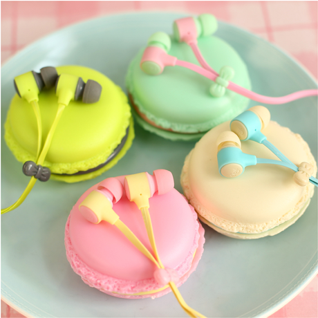 Macaroon Headset for iPhone and Android