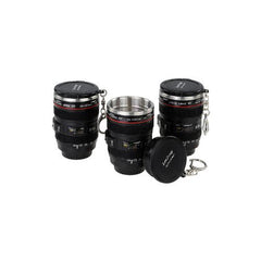 Mini SLR Camera Lens Shot Glass with Keychain - BoardwalkBuy - 3