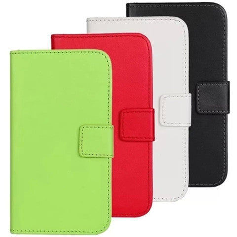 PU Stand Leather Case for Samsung S4 - BoardwalkBuy - 1