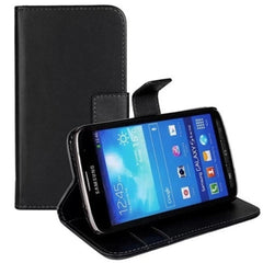 PU Stand Leather Case for Samsung S4 - BoardwalkBuy - 2