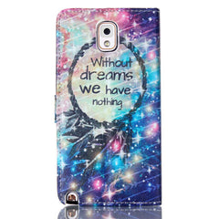 Dream Stand Leather Case For Samsung note3 - BoardwalkBuy - 3