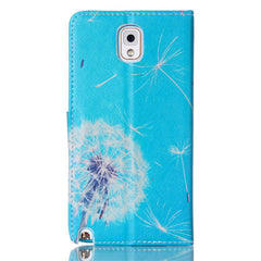 Dandelion Stand Leather Case For Samsung note3 - BoardwalkBuy - 3