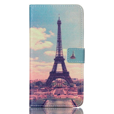 Paris Stand Leather Case For Samsung note3 - BoardwalkBuy - 1