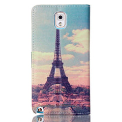 Paris Stand Leather Case For Samsung note3 - BoardwalkBuy - 3