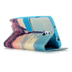 Paris Stand Leather Case For Samsung note3 - BoardwalkBuy - 4