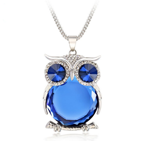 Trendy Owl Necklace