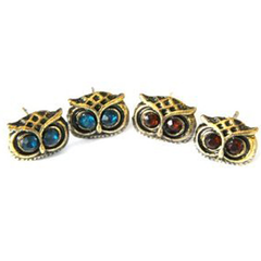 Crystal Owl Earrings - BoardwalkBuy - 4